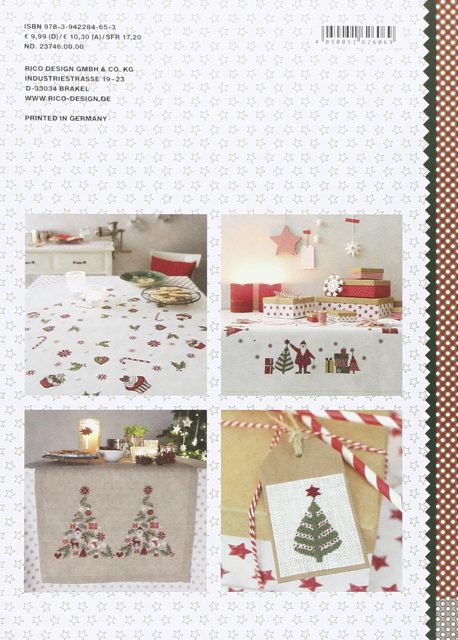 """146 /""""Merry Christmas/""""  NEU Ausgabe 2015 Stickheft von Rico Design Nr"""