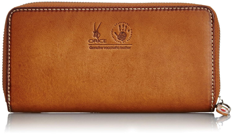 [オリーチェ] ORICE オリーチェバケッタレザーロングジッパー財布 B00I41RXCK ブラウン