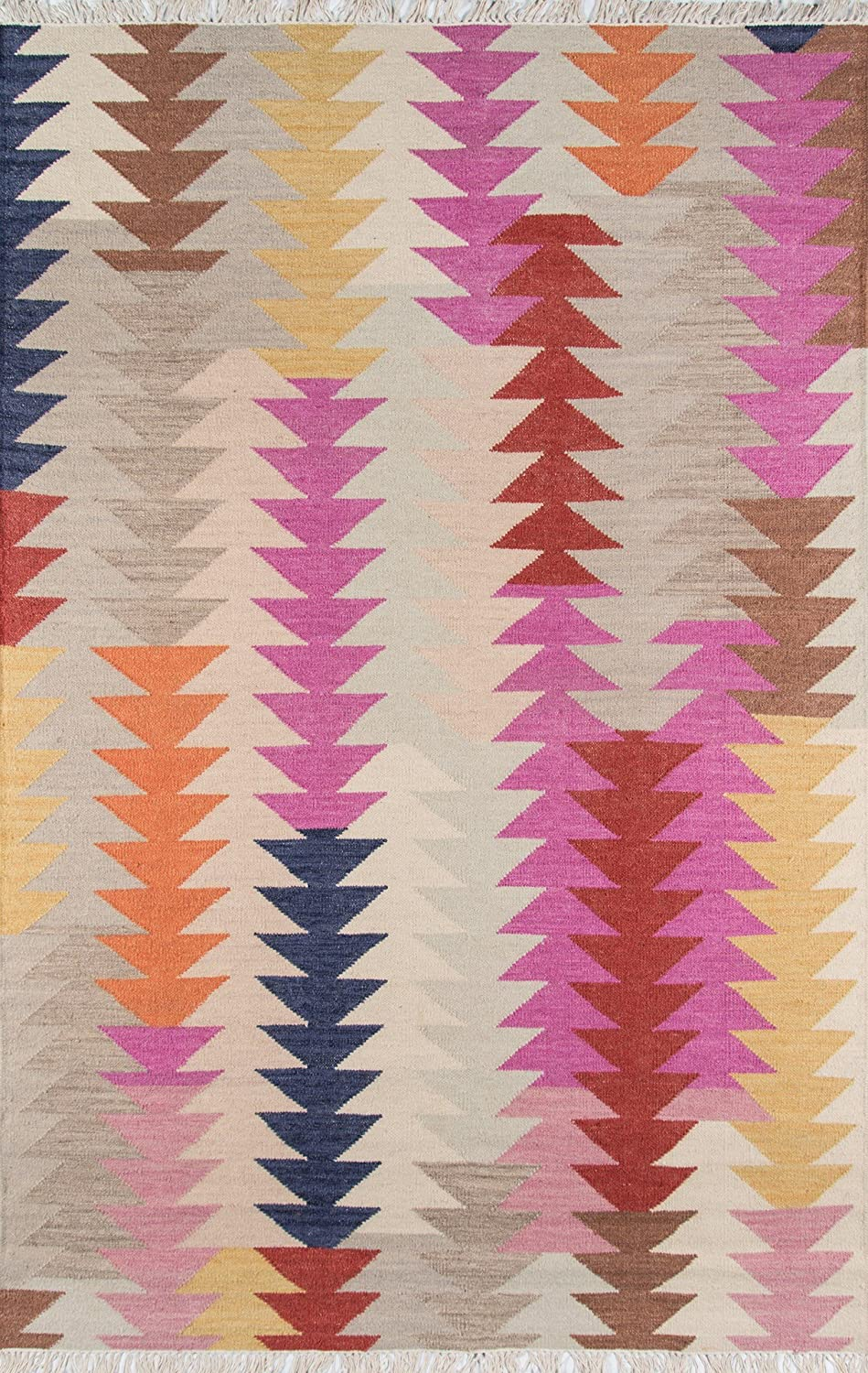 Momeni Rugs Caravan Collection 100% Hand Los Angeles Mall Woven Jacksonville Mall Transitiona Wool