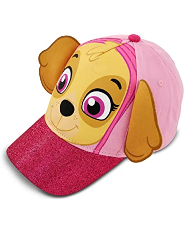 86770ee7457 Nickelodeon Toddler Girls Paw Patrol Skye Character Cotton Baseball Cap
