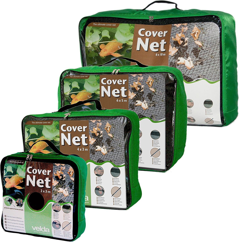 Laubschutznetz 6 x 10 Meter mit Erdspieße Laub Schutz Netz Teich Gartenteich