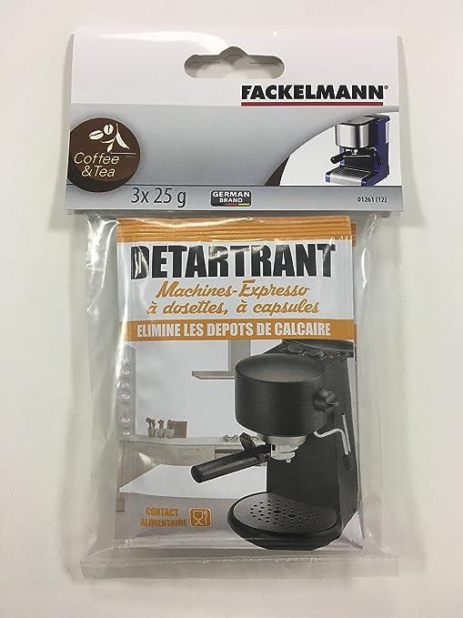 Fackelmann Limpiador EN Polvo para CAFETERA Express, Aluminio ...