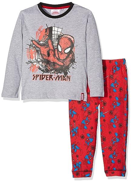 64e54709407d DC Comics Spiderman Spider Web Conjuntos de Pijama para Niños: Amazon.es:  Ropa y accesorios