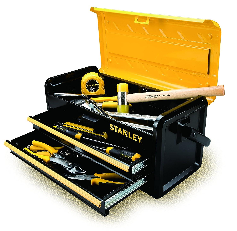 Stanley STST1-75510 Boite /à outils metallique 3 compartiments 47cm