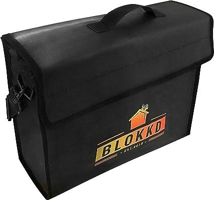 Blokkd - Caja de seguridad para documentos a prueba de fuego ...