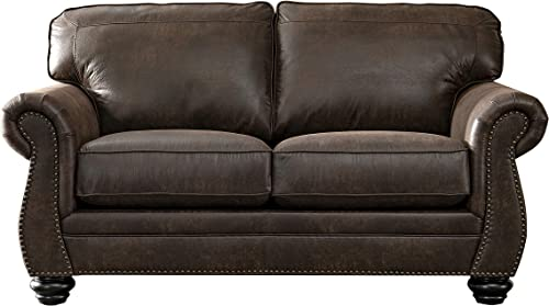 Acanva Luxury Contemporary Leathaire Leather Sofa