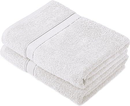 Pinzon by Amazon - Juego de toallas de algodón egipcio (2 toallas ...