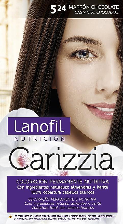 Lanofil Lanofil Carizzia - Tinte, color 5,24 -marrón ...