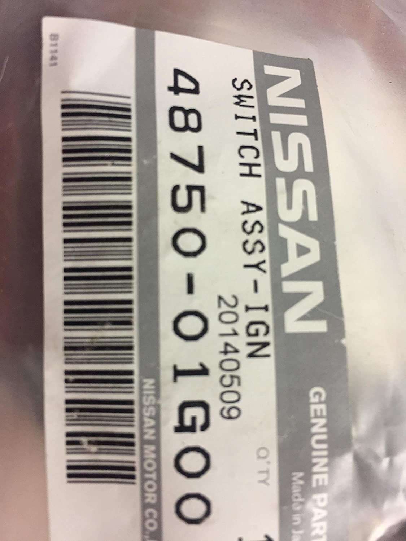 Genuine Nissan 48750-01G00 Ignition Switch
