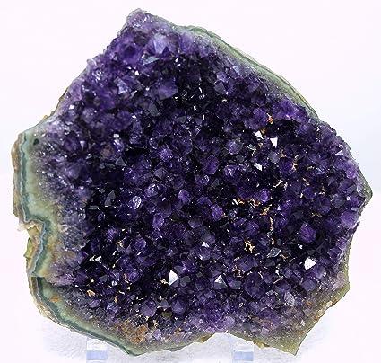 Amazon com: Mine Treasures Splendid Purple Amethyst Geode Amethyst