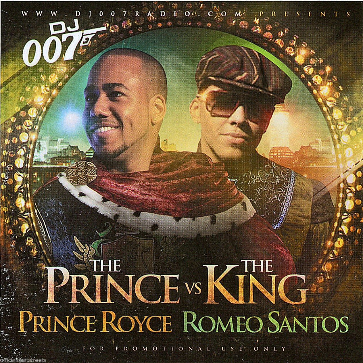 DJ 007 Prince Royce VS Romeo Santos Rare (Mix CD)
