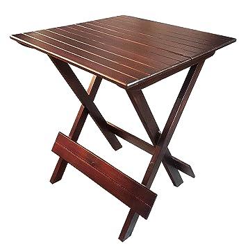 Anveshak Home Decor Multipurpose Folding Wooden Table Amazon In