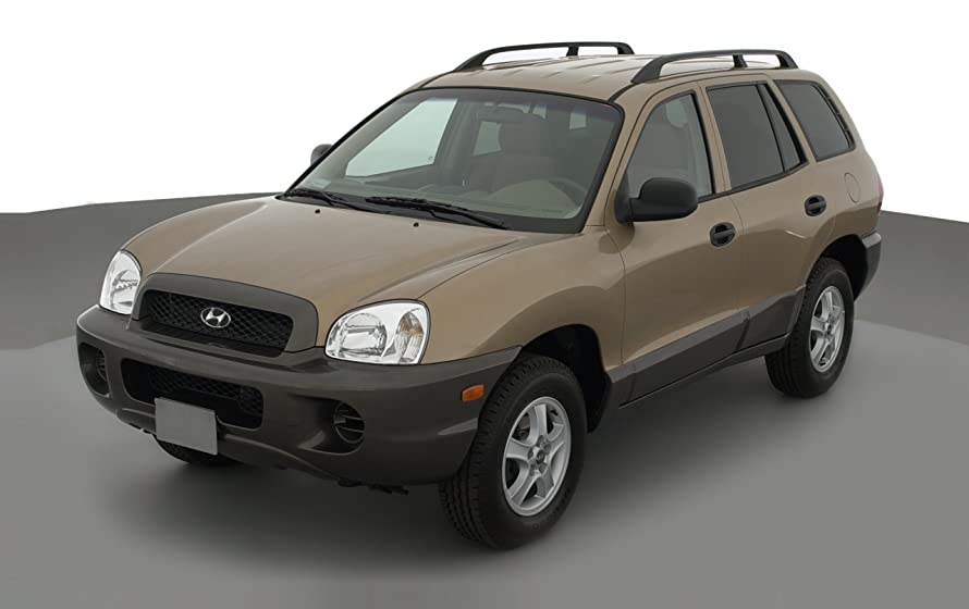 2003 hyundai santa fe reviews images and specs vehicles. Black Bedroom Furniture Sets. Home Design Ideas