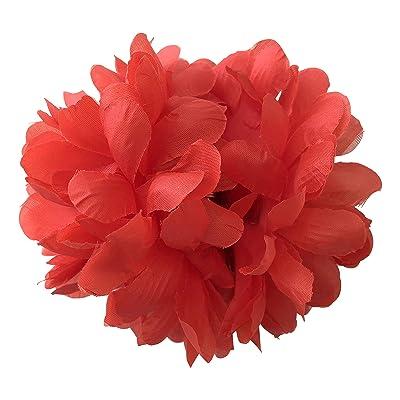 La Señorita Flores Flamenco rojo vestido Español: Juguetes y juegos