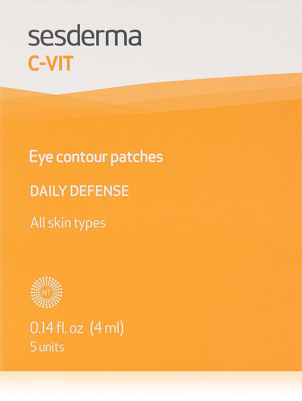 Sesderma C-vit Eye Contour Patches Flash Effect 5x7ml C-VIT PARCHES CONTORNO OJOS