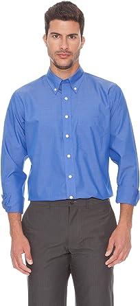 Rushmore Camisa Andrómeda Azul 38: Amazon.es: Ropa y accesorios