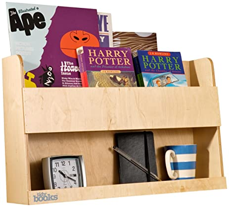 Tidy Books  The Original Bunk Bed Buddy  Bunk Bed Shelf In Natural Wood