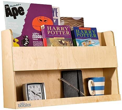 Tidy Books The Original Bunk Bed Buddy Shelf In Natural Wood