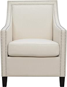 Emerald Home Furnishings Janelle Accent Chair, Beige