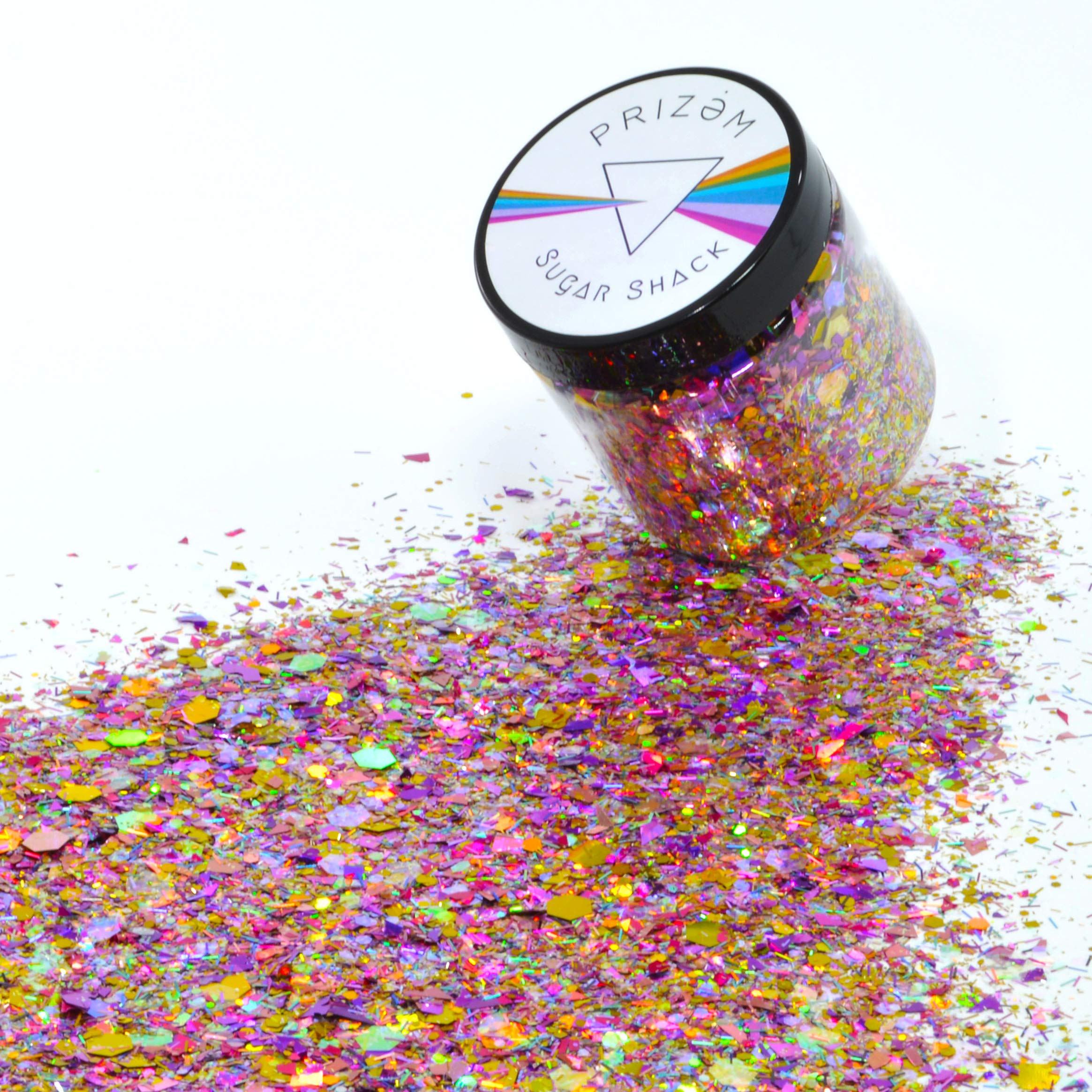 Sugar Shack Glitter ▽ 60g ▽ Festival Glitter , Chunky Glitter , Makeup Glitter , Face Glitter , Body Glitter , Glitter Makeup , Hair Glitter , Cosmetic Glitter , Nail Glitter , Eyeshadow Glitter