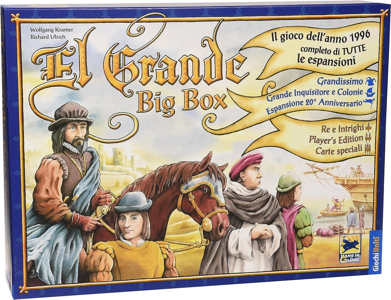 Giochi Uniti Juegos de EE.UU. - El Grande Big Box: Amazon.es: Juguetes y juegos