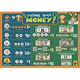 Learning About Money Placemats - Educational Kids Placemats - Non Slip Washable