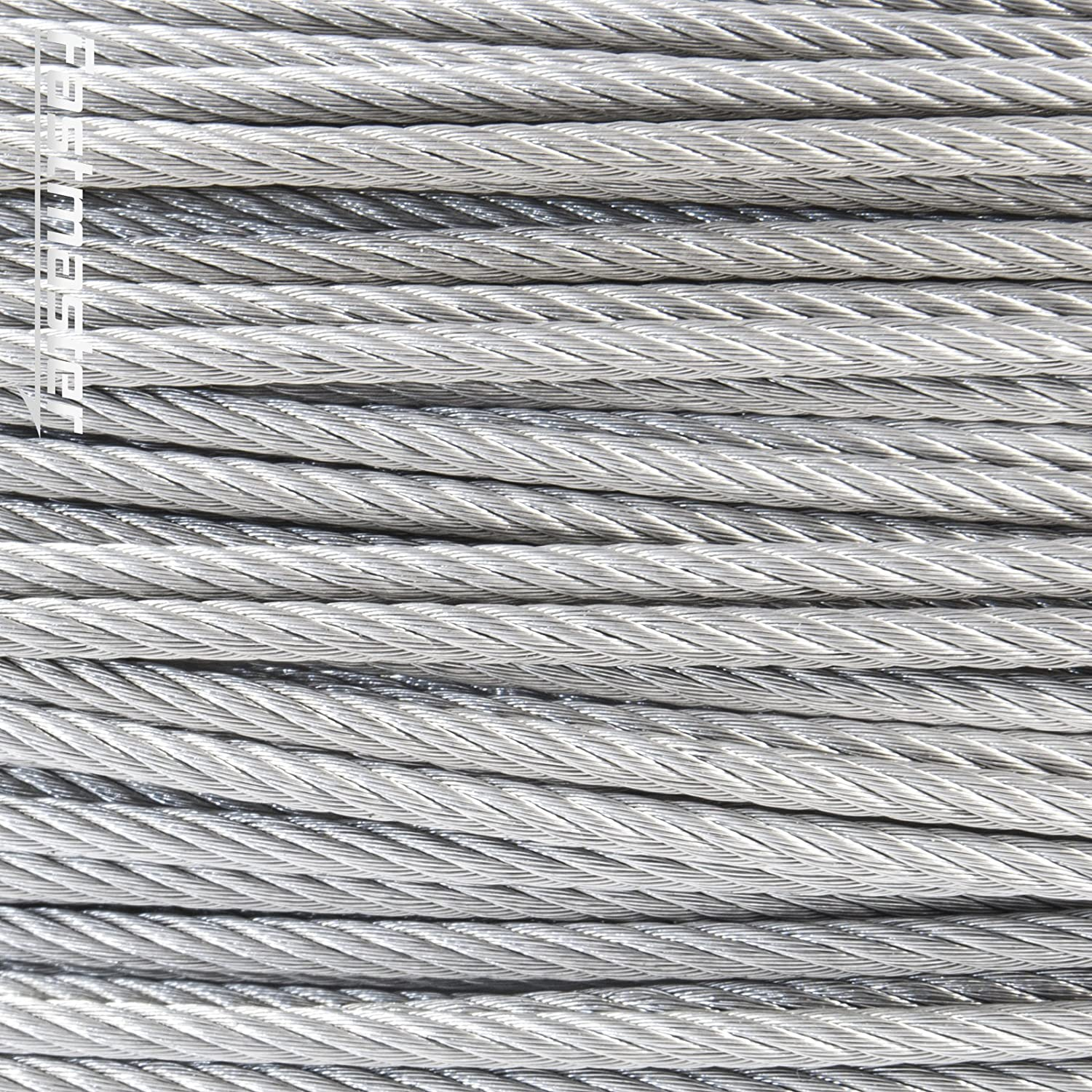 7x7 5 m stainless steel wire rope cable 1 mm cordage Strand