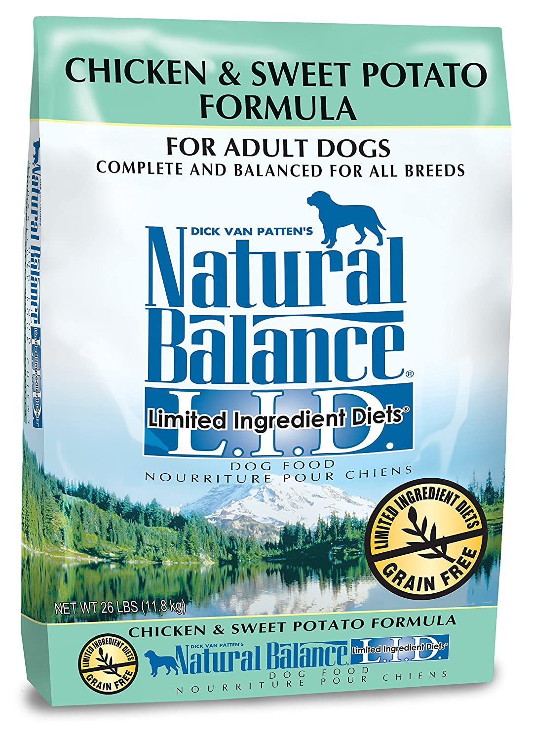 Natural Balance Limited Ingredient Diets Dry Dog Food - Chicken & Sweet Potato Formula
