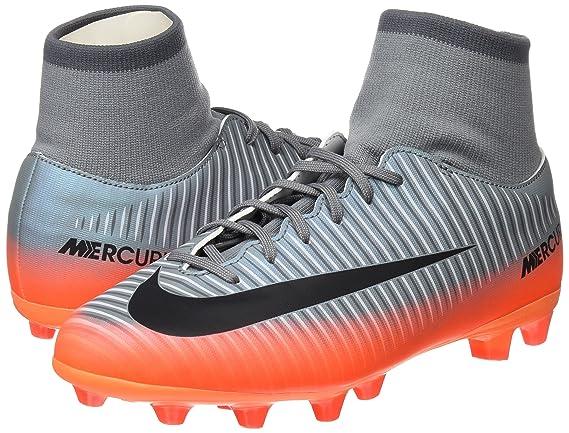 Nike Jr Mercurl Vcty 6 Cr7 DF Agpro Zapatillas, Niños, Gris, 38.5: Amazon.es: Deportes y aire libre