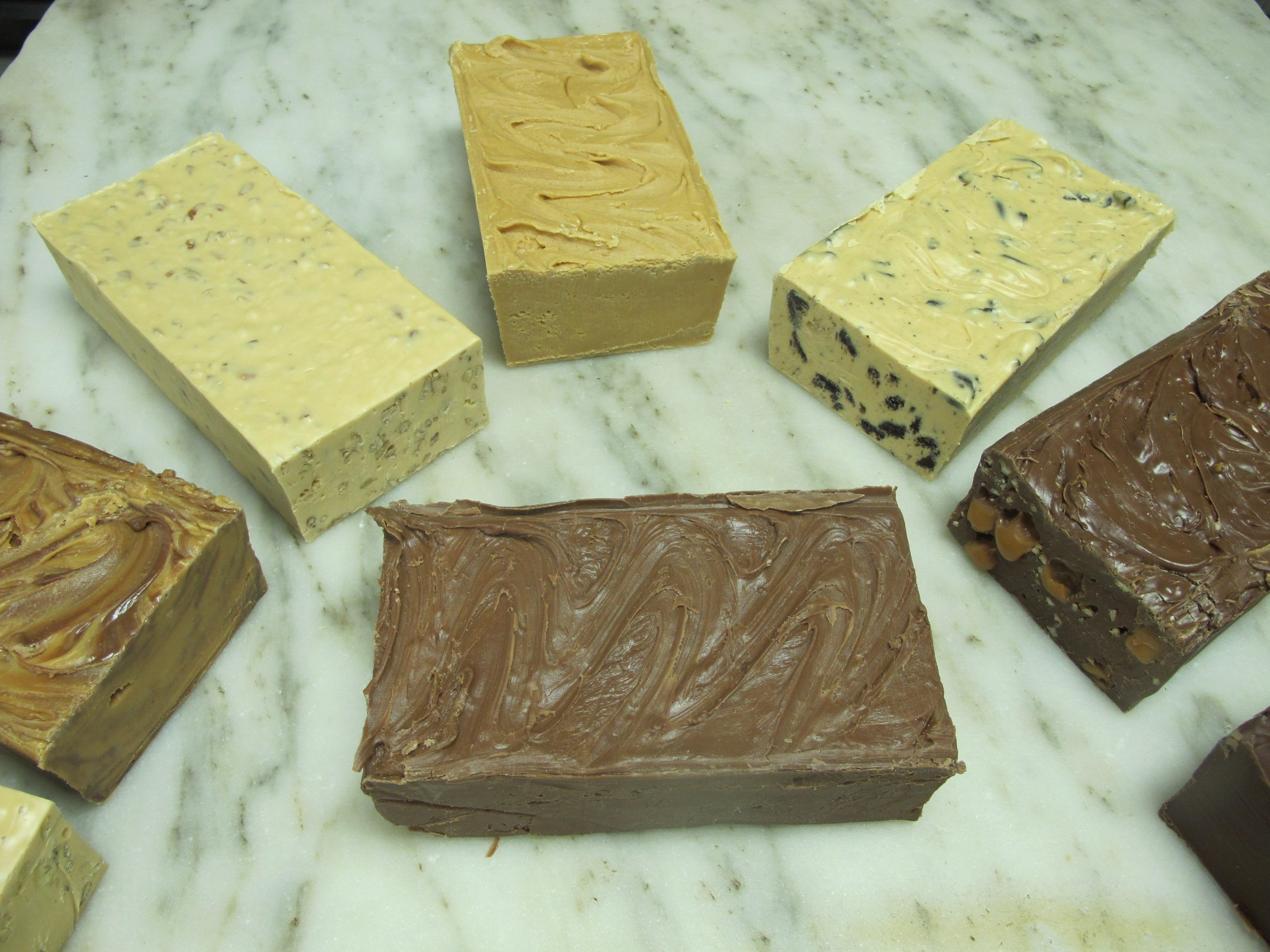 Handmade Fudge 5 Lb. Loaf Black Walnut
