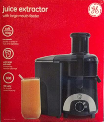 amazon com ge general electric juicer juice extractor 169201 rh amazon com GE Juicer Recipes GE Juicer 169201 Parts