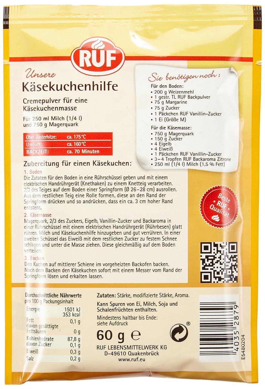 Ruf Kasekuchen Hilfe 20er Pack 20 X 60 G Amazon De Lebensmittel