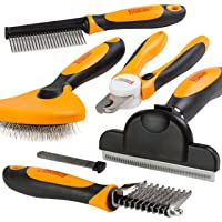 Friends Forever Grooming Box Set Toolbox Deshedding Grooming Brush Dematting Comb Rake Nail Trimmer Clipper