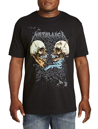 2dcb26bde30 True Nation by DXL Big and Tall Metallica Skulls Graphic Tee ...