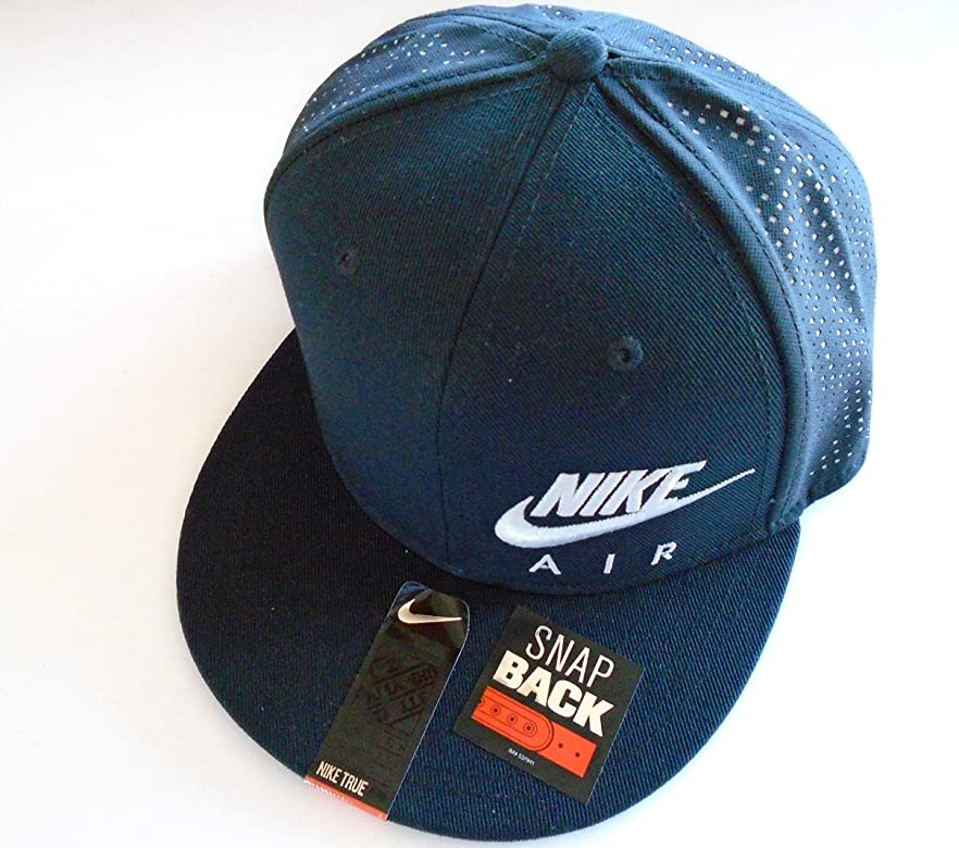 be8c61247fabc NIKE Air Hybrid True Snapback Hat Baseball Cap (Black/Wolf Grey) Youth (