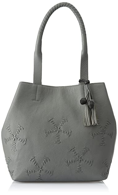 AQUATAN Boho Whipstitch Women's Tote Bag (Grey) (AT-L03-01)