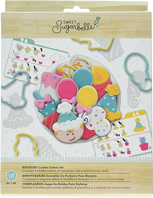 Amazon.com: American Crafts AMC Sugarbelle Birthday Cookie ...