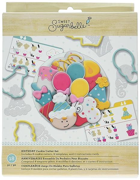 Amazon Com American Crafts Amc Sugarbelle Birthday Cookie