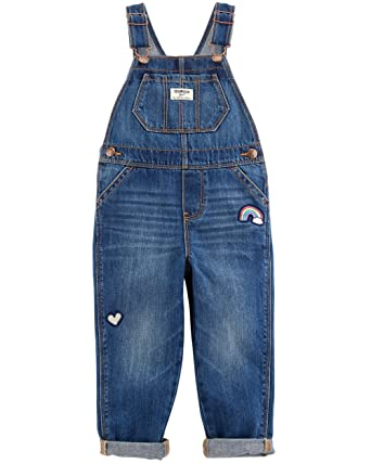1be10b77673 Amazon.com  OshKosh B Gosh Baby Girls  World s Best Overalls  Clothing