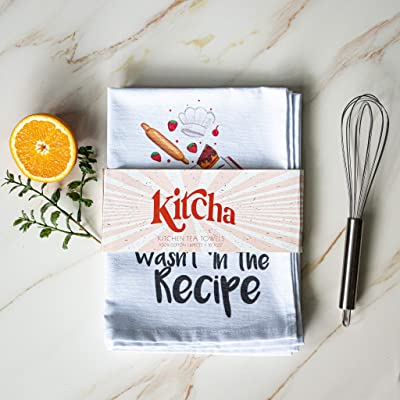Buy Kitcha Funny Kitchen Towels And Dishcloths Sets Of 4 Unique Funny Dish Towels With Sayings Perfect For Housewarming Gifts New Home Funny Hand Towels For Kitchen Gifts Online In Indonesia B08ndk6wvb