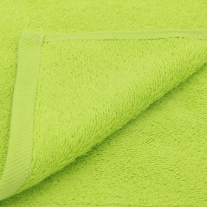 ZOLLNER 6 Toallas de Lavabo, Premium 520 g/m², 50x100 cm, Verde: Amazon.es: Hogar