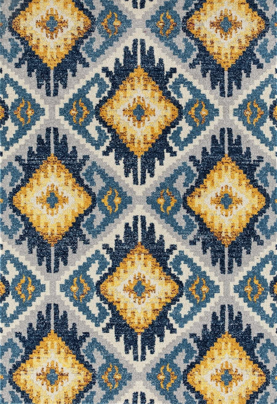 United Weavers Abigail Tinley Area Rug, 5 3 x 7 2 , Midnight Blue