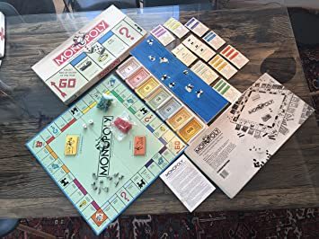 Monopoly 1985 Edition by Parker Brothers by Parker Brothers: Amazon.es: Juguetes y juegos
