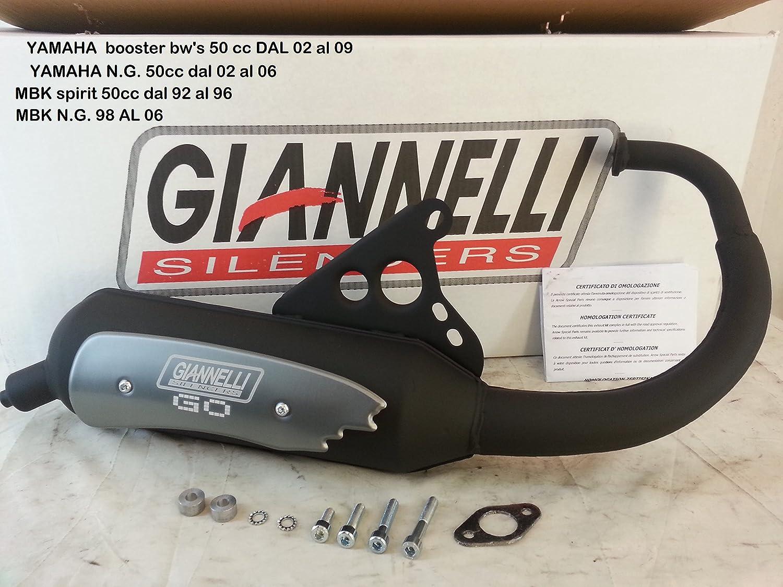 31652R Marmitta Giannelli Go MBK BoostER-R '92-06 8030656016997