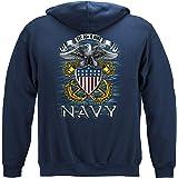 USN Navy Full Print Eagle Hooded Sweat Shirt MM144SW