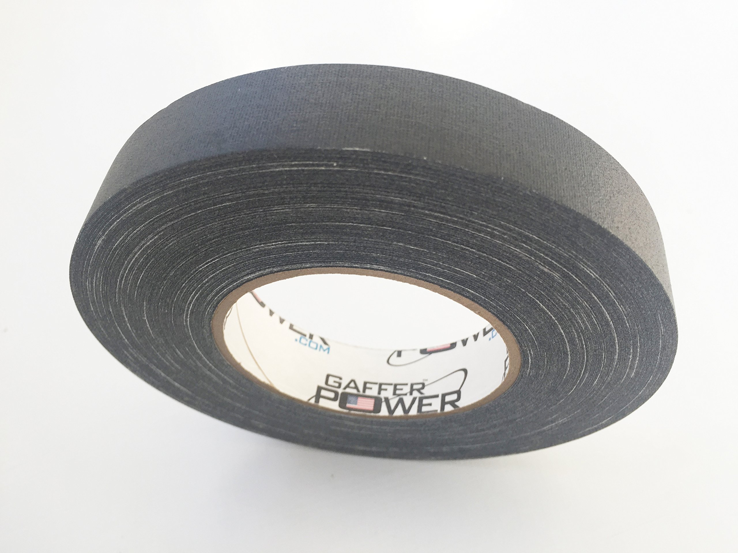 Professional Premium Grade Gaffer Tape - BLACK 1 In x 60 Yds - Heavy Duty Pro Gaff Tape - Secures Cables, Holds Down Wires Leaves No Sticky Residue Easy to Tear, Multipurpose, Better Than Duct Tape by Gaffer Power (Image #5)