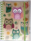 Tallon 2018-19 Owl Design Mid-Year Wiro Academic Day a Page Diary 3883