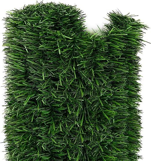 jarolift Estera arbusto seto Artificial para Balcones terrazas y Jardines, 1 x 3m: Amazon.es: Jardín