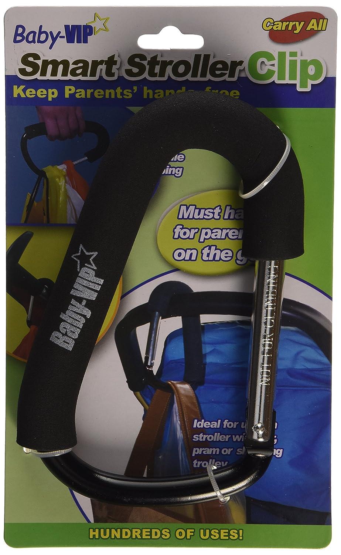 Maxtto Childcare Smart Stroller Buggy Clip (Black) SCL-B