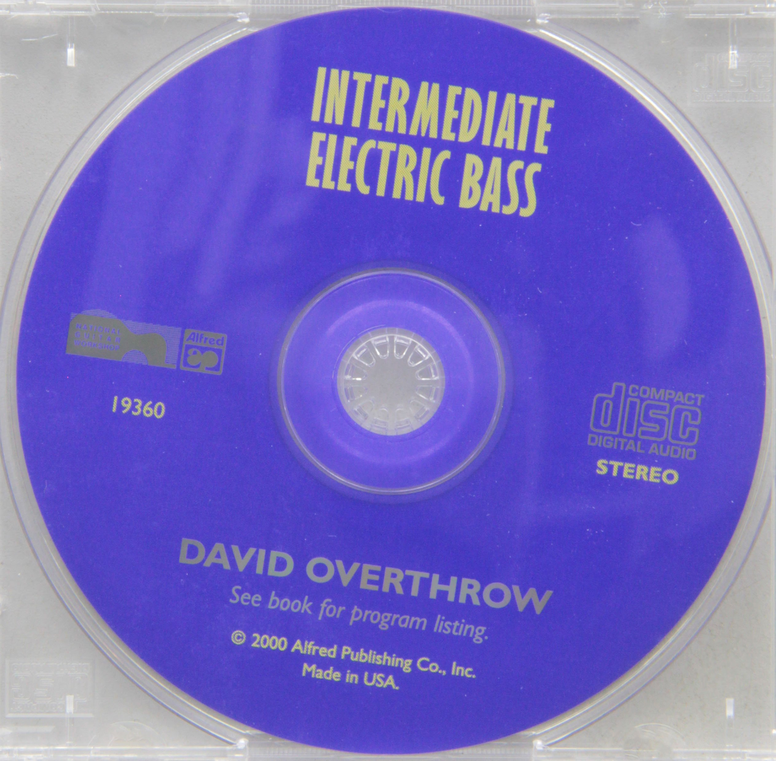 Download Complete Electric Bass Method: Intermediate Electric Bass (Complete Method) pdf